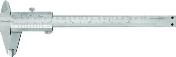 Skydelære med skruelås 0-150 x 0,05 mm og kæbelængde 40 mm 10132150