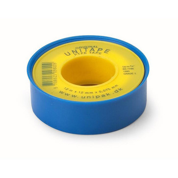 Unitape gevindbånd Unipak 12 mm 1000102