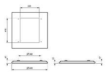 Philips CoreLine Påbyg Interact Ready SM134V LED 3700lm/830 60x60 OC/UGR<19