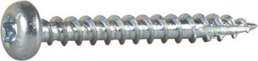 Wood Screw Full Thread Pan Head 127109