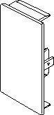 Endestykke BR 70130 PG M55737035