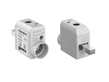 Apparat terminal klemme aluminium/kobber center 160A 6-50 mm² VC06-0019