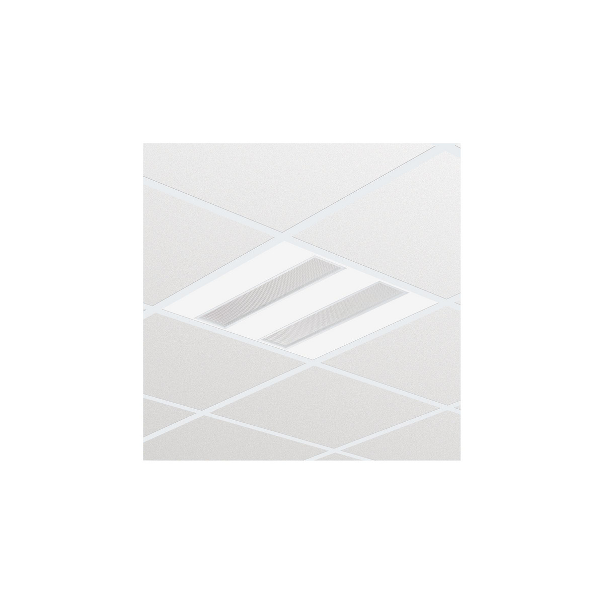 Philips FlexBlend Indbyg RC340B 3600lm/840 SpaceWise 60x60 Synlig T-skinne MLO-optik OC/UGR<19
