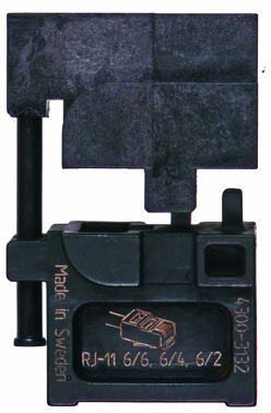 MOBILE-bakker OMP11 ABIKO f/ modular stik RJ11 4301-313200