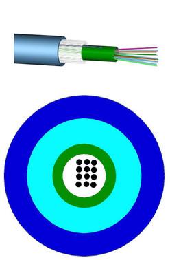 Fiberkabel Unitube 24XOS2 LSZH kappe 60011336 60011336