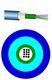 Fiberkabel Unitube 12XOS2 LSZH kappe 7835301414