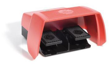 Foot switch with 2 pedals Emergency Stop button F2-U2Z/U2Z NA2 UN 6162720700