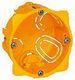 Forfradåse gul europastandard 2m 40 mm 8717100127