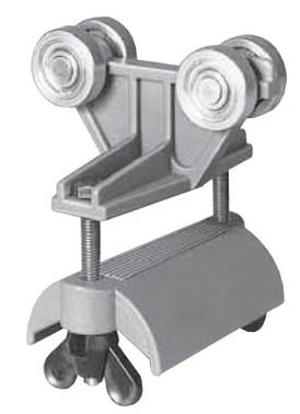 Kabelvogn fladkabel i plast med stålhjul 7837302796 0312689