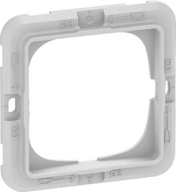 LK FUGA teknisk monteringsramme for SOFT, BASE 63, CHOICE & PURE designrammer 1 modul 560D0010