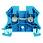 Gennemgangsklemme WDU 4 blå 102018 1020180000 miniature