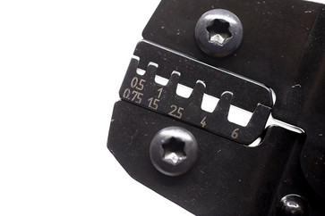 Pressetang DEB0560 ABIKO f/ terminalrør 0,5-6 mm² 4301-004600