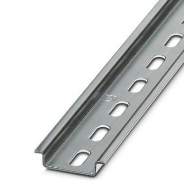 DIN rail perforated NS 35/ 7,5 ZN PERF 2000MM FT-DINSKINNE-TS35/F6-M/HUL-2M