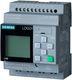LOGO! 24CE,logisk modul, display PU/I/O: 24V/24V/24V transistor, 8DI (4AI)/4DO 7889411172