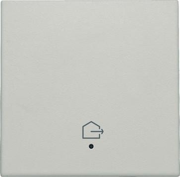 """Tangent med LED, med """"forlad hjem"""" symbol, light grey 102-32902"""