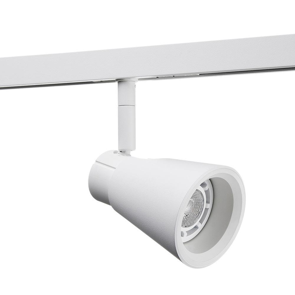 Zip Zoom Mat-Hvid 6W LED 2700K