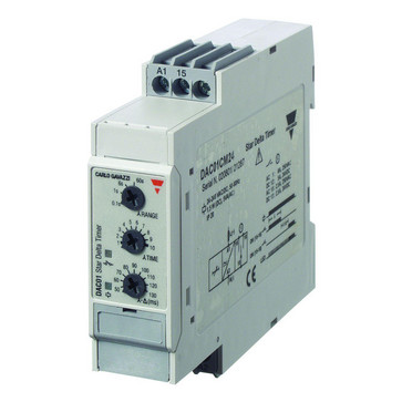 Tidsrelæ Stjerne/trekantstimere 24-240VAC/DC DIN DAC01CM24