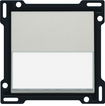 Tangent, enkelt, med tekstfelt, light grey 102-60905