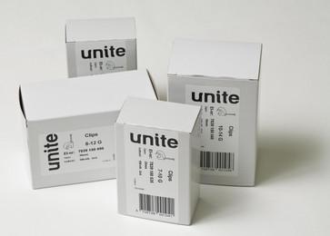 Unite clips LM 8-12G søm 30 i pakker á 100 styk 2204355