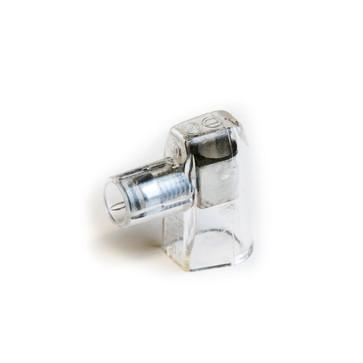 Samlemuffe enkelt 2,5 mm² klar lige kærv 500 stk HE25-1/SP