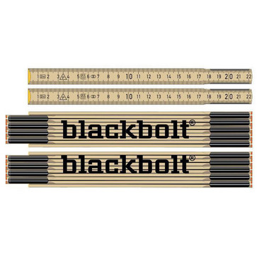 Blackbolt tommestok 2 m 9855
