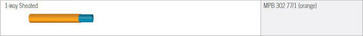 ABF Micronet rør 16/10 med dobbelt kappe, ydre orange Tr.1000m MPB30277/1-1000