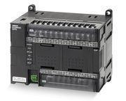 PLC, 24VDC forsyning, 18x24VDC indgange, 12xrelæudgange 2A, 2xanaloge indgange, 10K trin program + 32K-ord datalager, 1xEthernet-port CP1L-EM30DR-D 667992