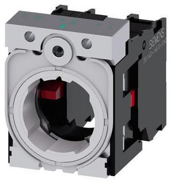 SIRIUS ACT holder til 3 moduler metal 1 NC 1 NC skrue 3SU1550-1AA10-1PA0
