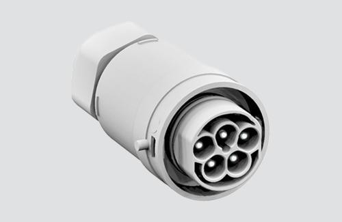M 1x5P Connector for cable 5x1,5 - 2,5mm2 - Male
