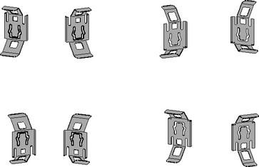 Gevindstangsholder galvaniseret 925E