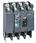 Maksimalafbryder  NSX400H uden relæ 4 polet LV432409 miniature
