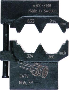 MOBILE-bakker OCC4755 f/ koaxialkontakter 5119-313800