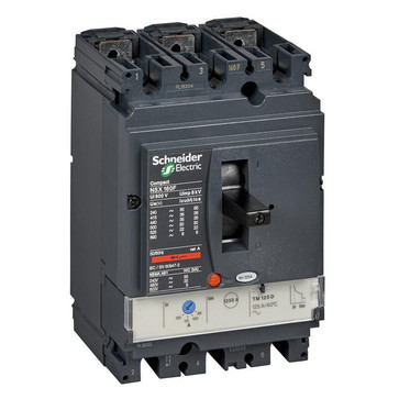 Maksimalafbryder NSX160B+TM125D 3P3D LV430311