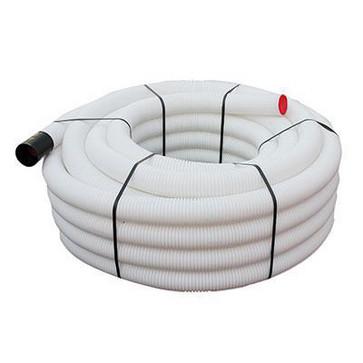 Unite ventilationsslange rulle a 50 meter hvid Ø90 384000905010257