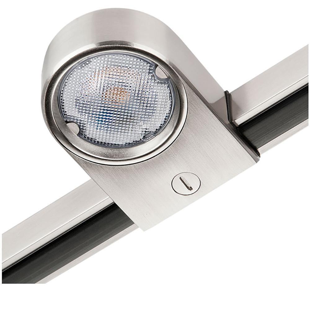 Zip Star Børstet stål 5W LED 2700K